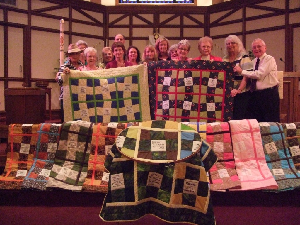 good shepherd Prayer quilt group 003