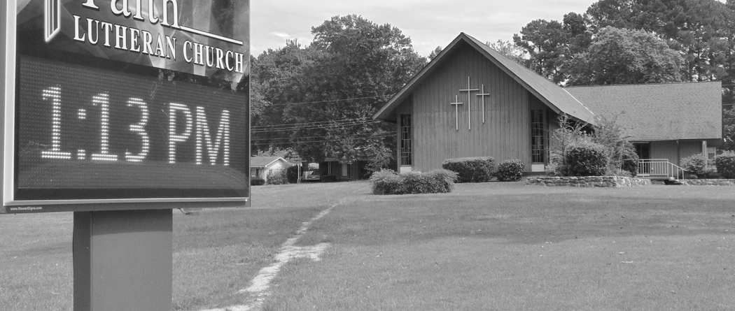 Faith Lutheran in Magnolia, AR Reaches Out with Digital Sign