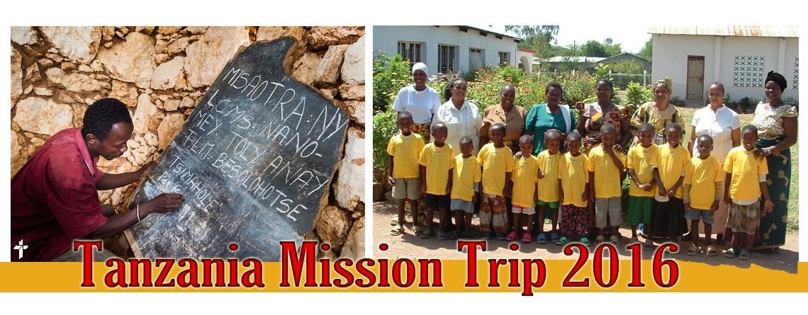 Tanzania Mission Trip 2016