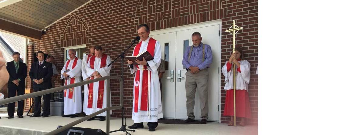 St. Paul Lutheran Church-Dedicates Parish Hall