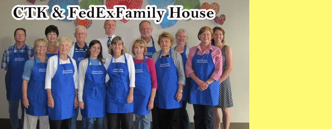 Love of Christ and the FedExFamilyHouse