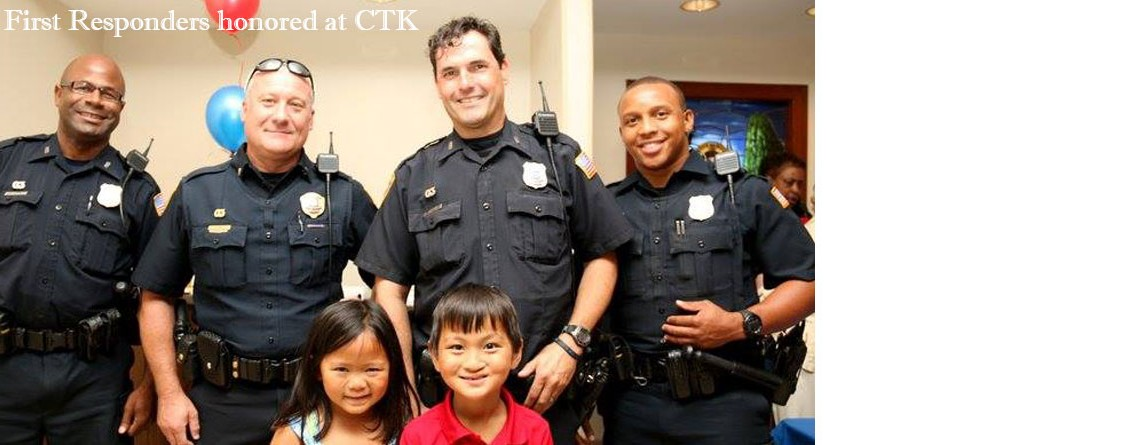 Police and Fire Recognition Sunday at CTK