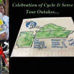 Cycle & Serve Tour Outakes…