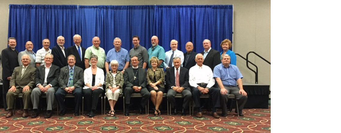 Mid-South District's Synod Convention Delegates