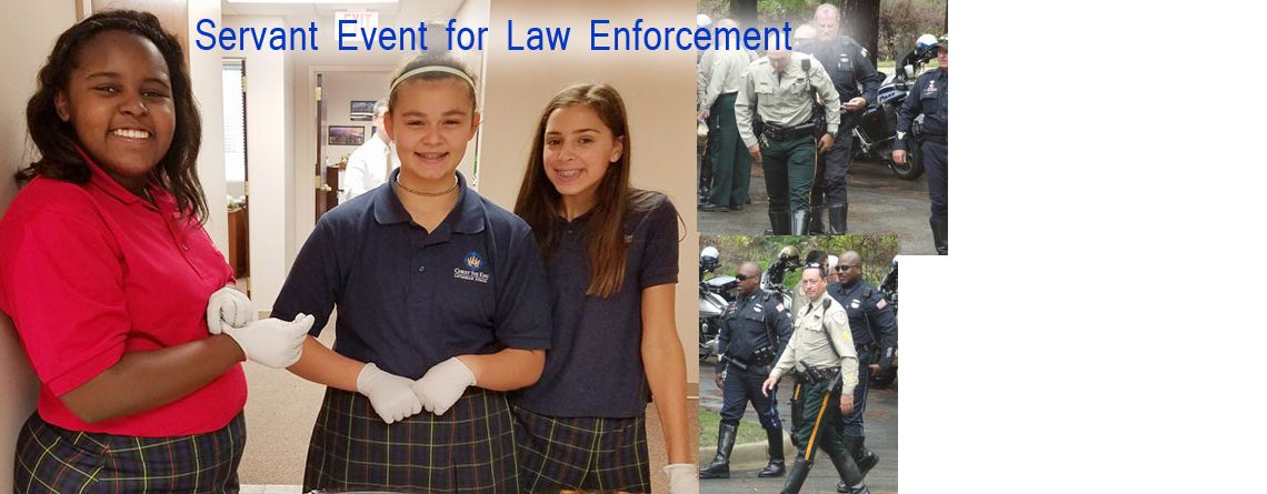 Servant Event for Law Enforcement Offers Smiles & Encouragement
