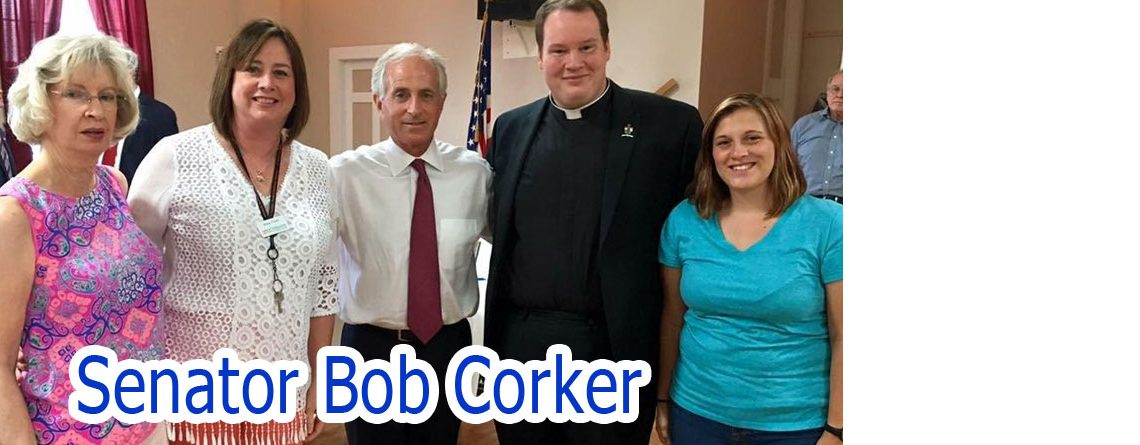 Senator Bob Corker meets with local community leaders