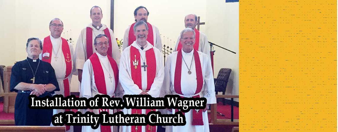 Installation of Rev. William Wagner