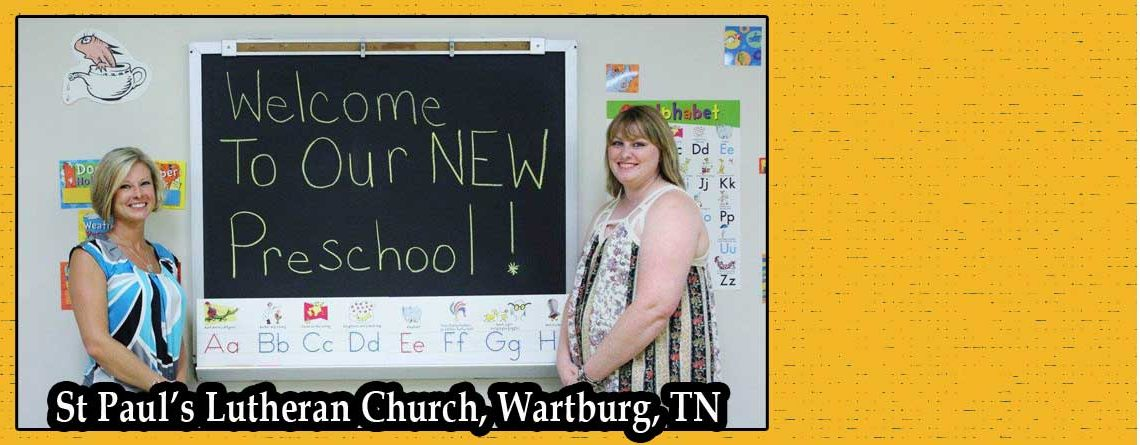 St. Paul's, Wartburg, Celebrates New Preschool Building