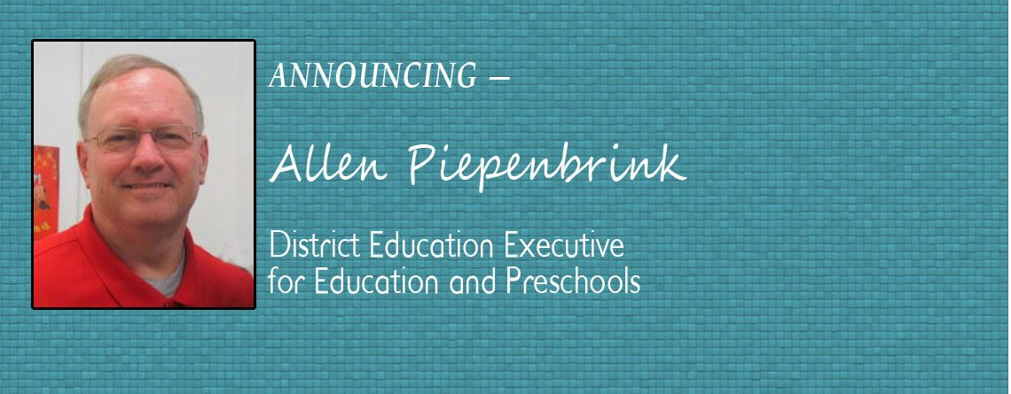 District Education Executive for Education and Preschools